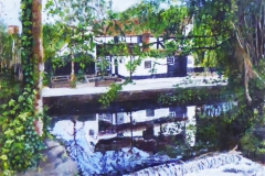 St ALBANS TROPHY - HIGHLY COMMENDED - Sally Griffiths - The Mill Stream (The Fighting Cocks)