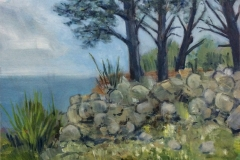 PINES AT ST LOY -  Artist © Clive Patterson