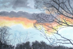 SMALLFORD SUNSET 1 - Artist © Elspeth Jackman