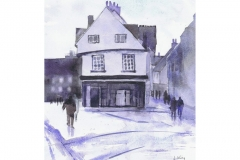 THE GABLES, ST ALBANS - Watercolour - Artist © Janet King