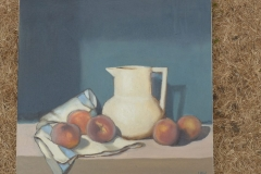 JUG WITH PEACHES - Oil - Artist © Renzon Rizzi