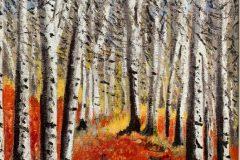 Silver Birches Artist © Edward Bevin