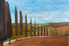 Tuscany Artist © Edward Bevin