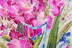 AP_susanchesterpastelstilllifeflowersgladioli